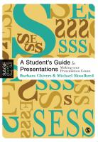 student guide to presentation