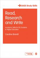 read research write