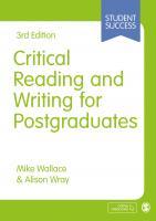 critical reading for postgrad