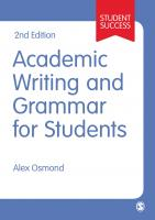 academic writing grammar students