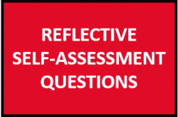 Reflective self-assessment questions