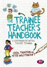 Cover of Thompson and Wolstencroft Trainee Teachers Handbook