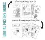 digital picture books icon