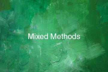 Mixed Method button