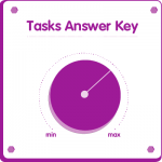 Tasks answer key