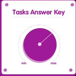 Tasks answer key