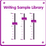 Writing samples library