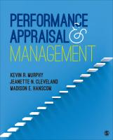 Cover_Performance Appraisal and Management