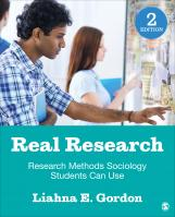 Real Research: Research Methods Sociology Students Can Use