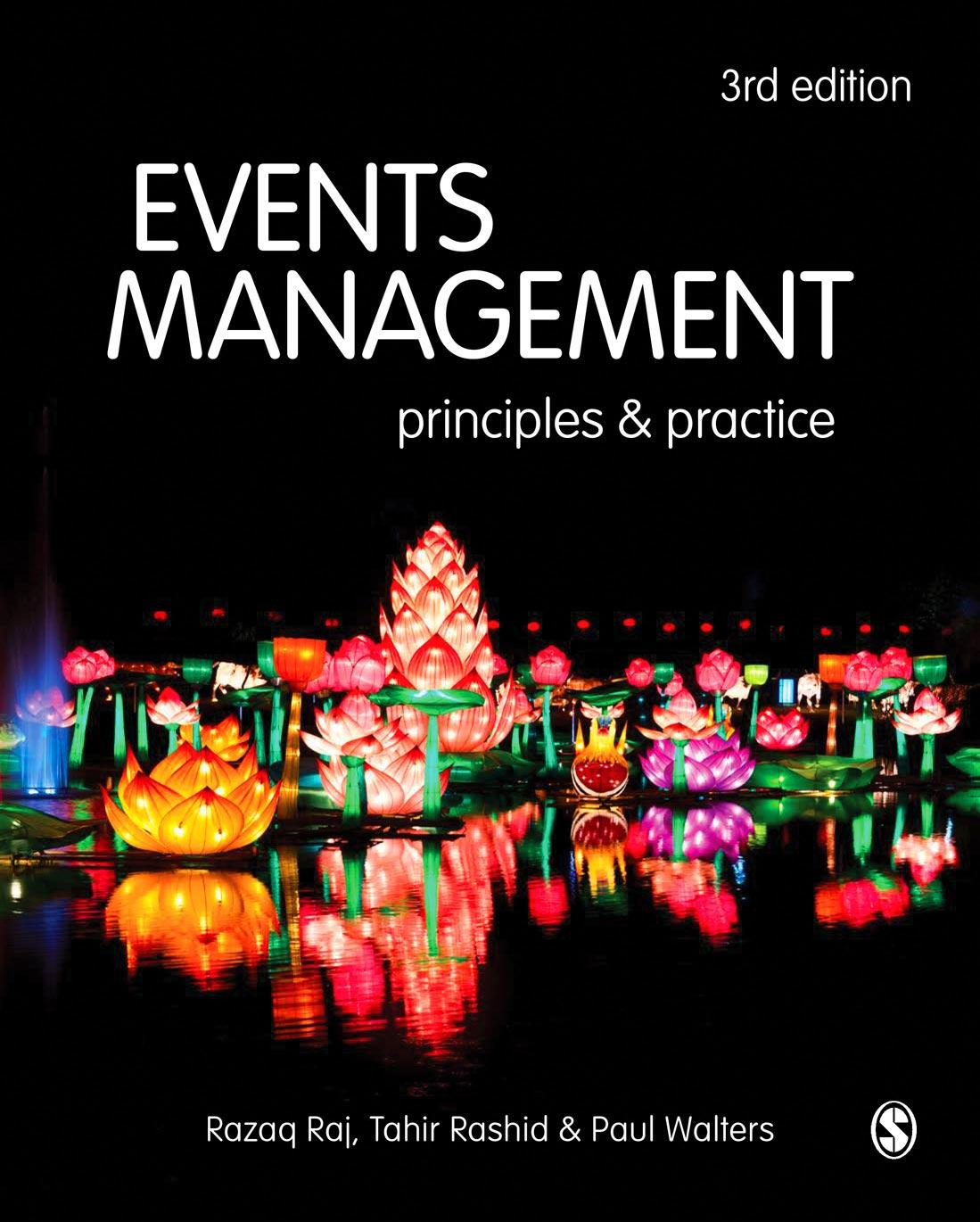 Cover of Events Management, 3e