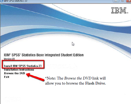 Technology Management Image: IBM® SPSS® Statistics Base Integrated Student Edition V.24