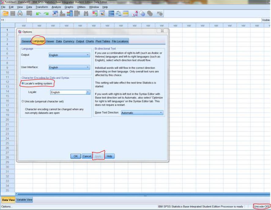 ibm spss statistics base integrated student edition