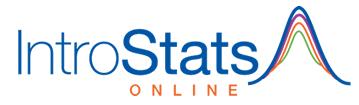 IntroStats Online Logo
