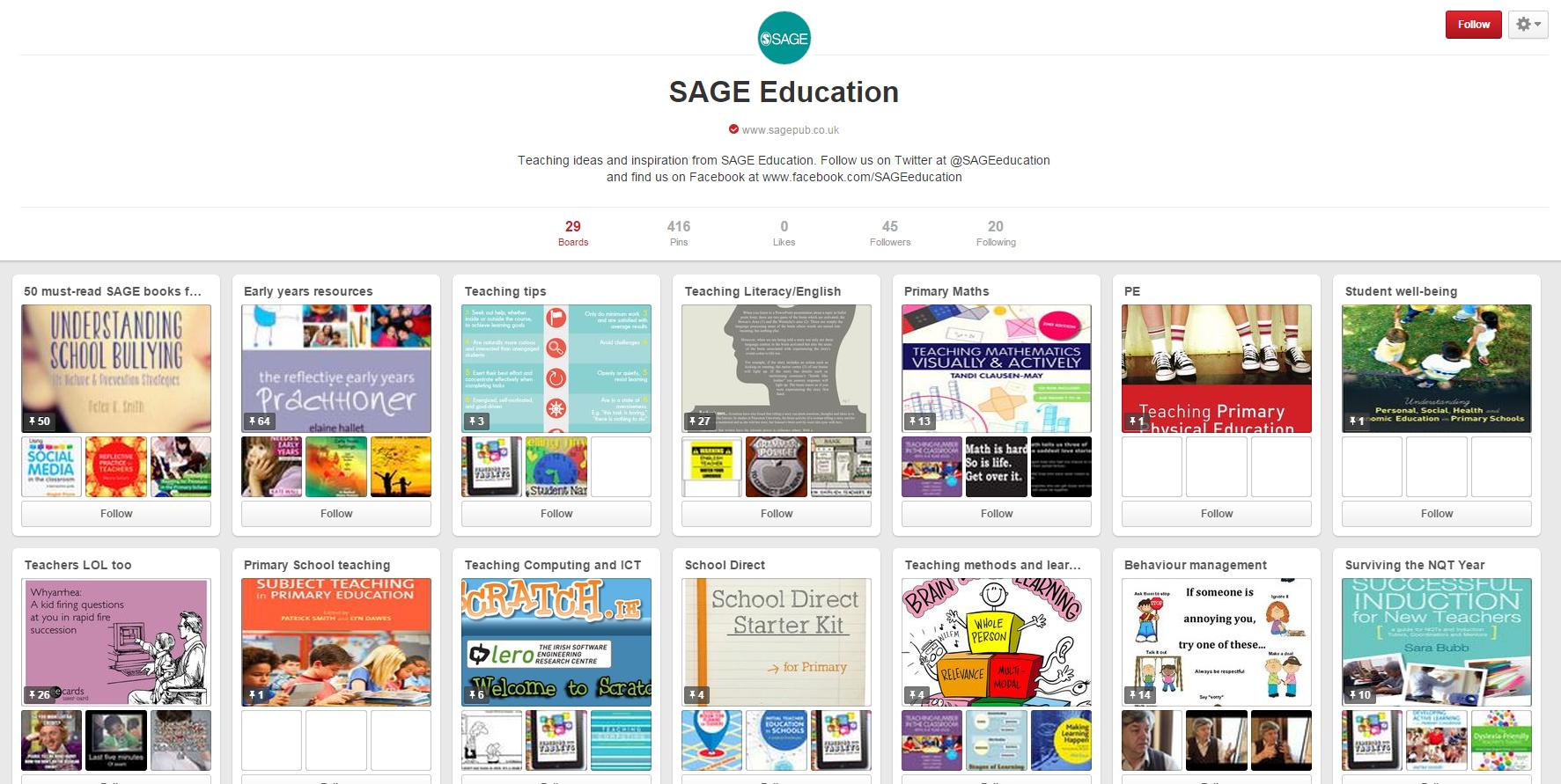 Pinterest Education