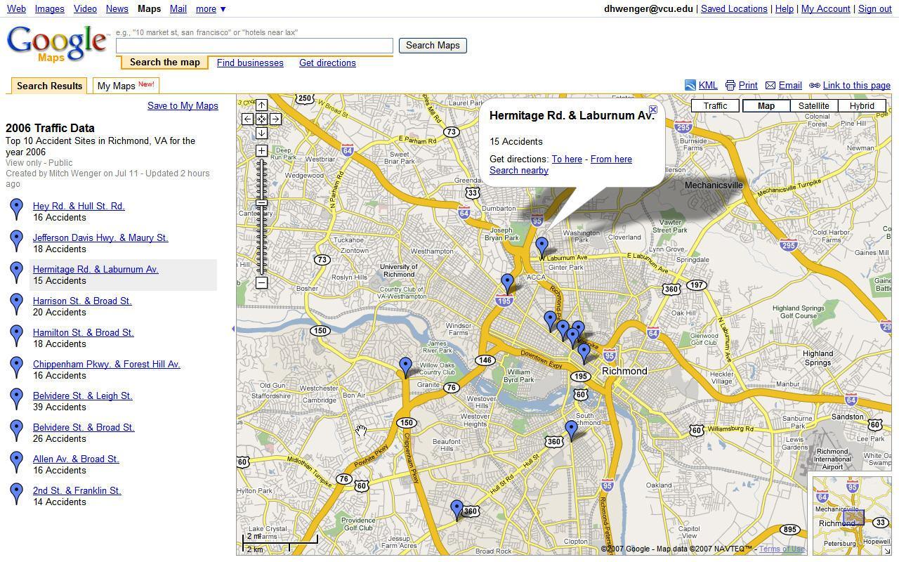 ATS4 Google Maps Screenshot