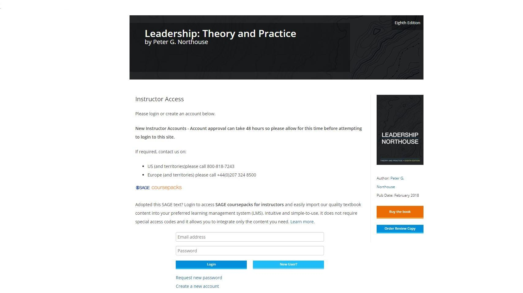 Sign in to Instructor Resources