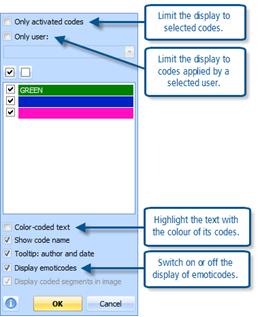 Figure 7.6.3 – Context menu in Coding stripe column (margin)