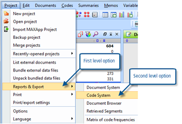 Figure 7.8.3 – Export Code System to file