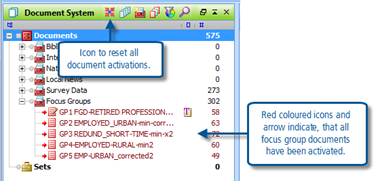 Figure 6.5.3 – Activating documents