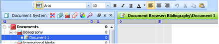 Figure 5.5.2 – Creating a new text document