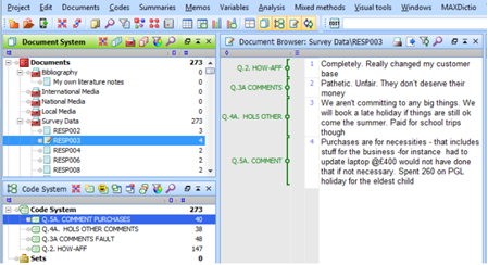 Figure 5.8.5 – Project screen after importing survey data
