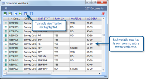 Figure 12.1.3 – Data Editor window