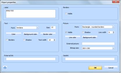Figure 11.1.5 – MAXMaps object properties dialog
