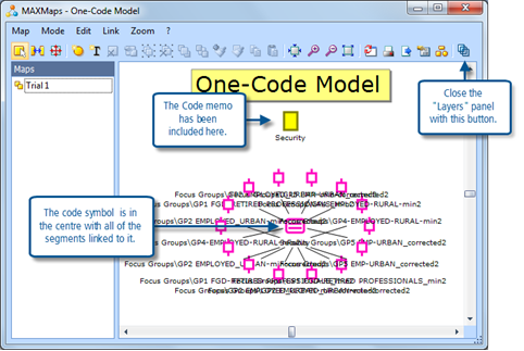 Figure 11.2.4 – The initial import of coded segments