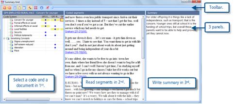 Figure 10.2.1 – Creating a summary for the Summary Grid
