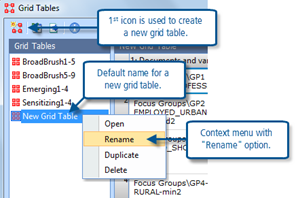 Figure 10.2.6 – Naming a new grid table