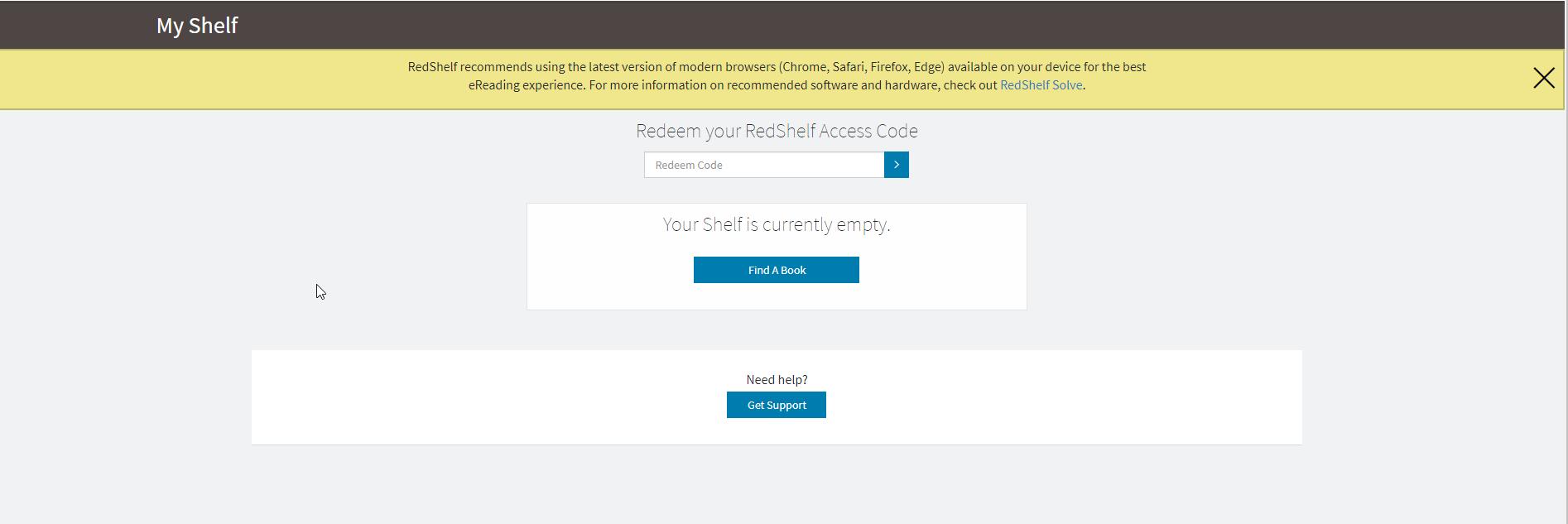 Redshelf access codes